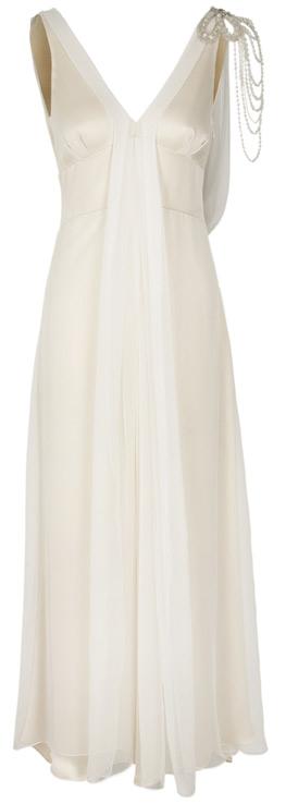 Koh Samui Bespoke Vintage Wedding Dress (Front)