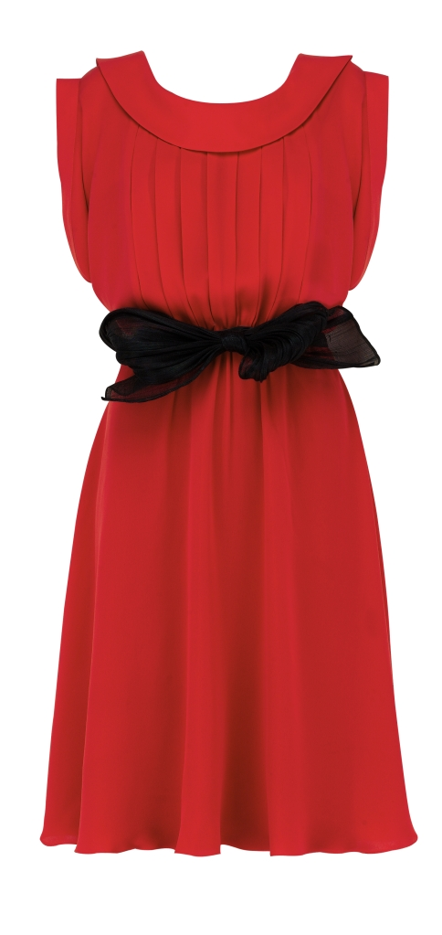 Red Lawn Dress | suzannah.com