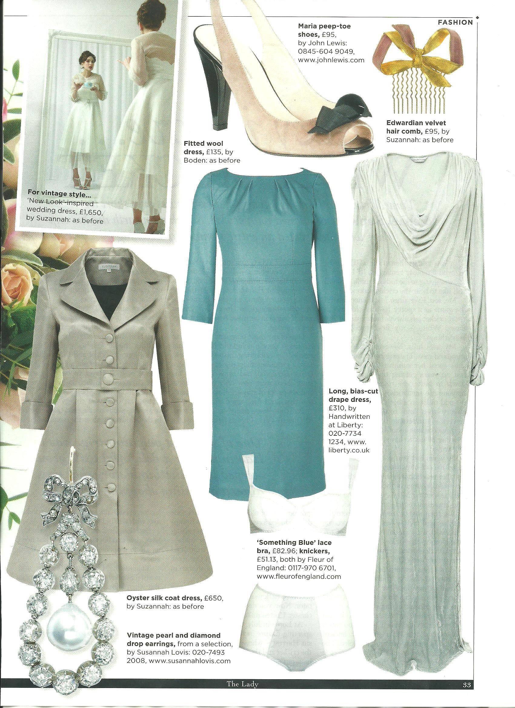 vintage wedding dress; registry office wedding dress; pleated ...