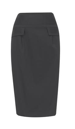 Longline Pencil Skirt