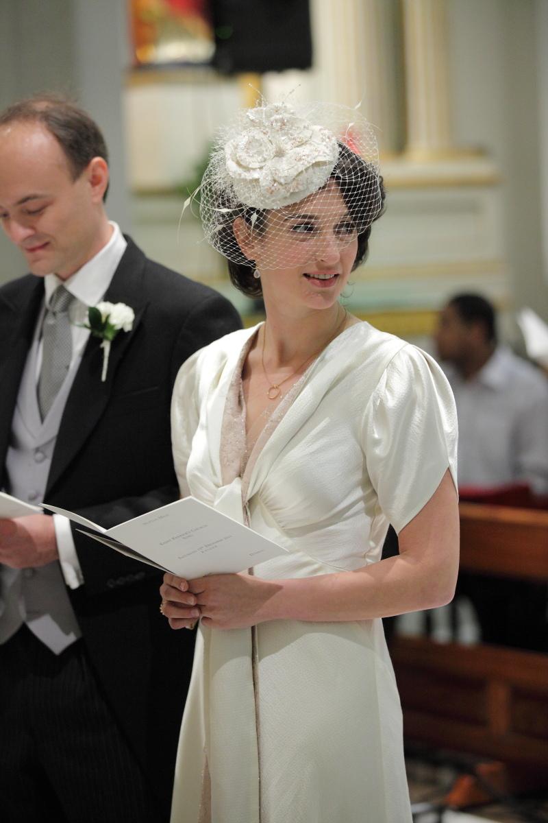 vintage wedding dress; 1940\'s dresses; registry office wedding ...