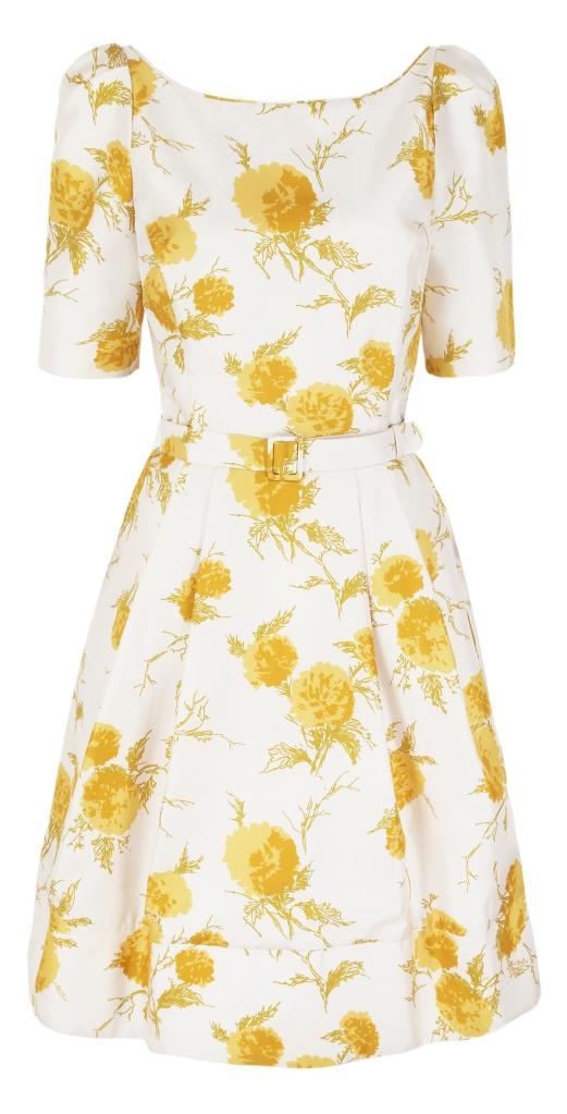 Fifties Oriental Bloom Paste:Gold copy