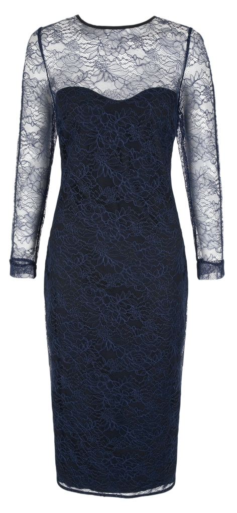 Navy Lace Ultimate Shift