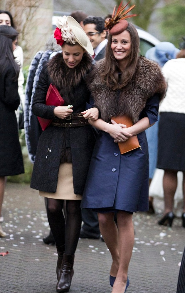 Pippa Middleton wears Suzannah Vintage Coat Dress
