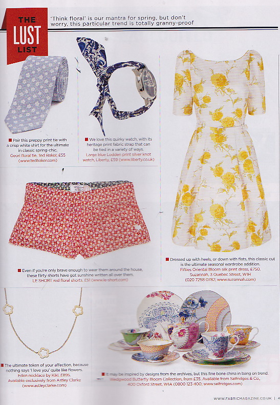 The Fifties Oriental Dress hits the Lust List..x
