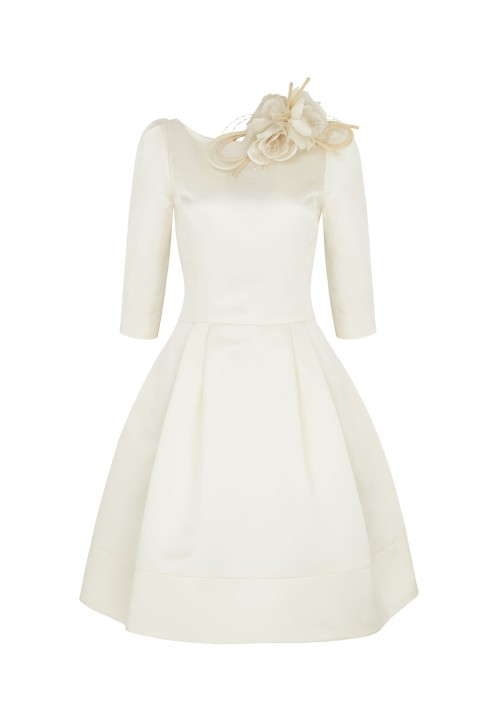 Short 1950s Inspired Wedding Dress