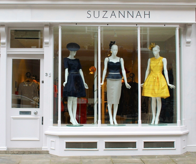 Suzannah Boutique 3 New Quebec Street London W1H7RE