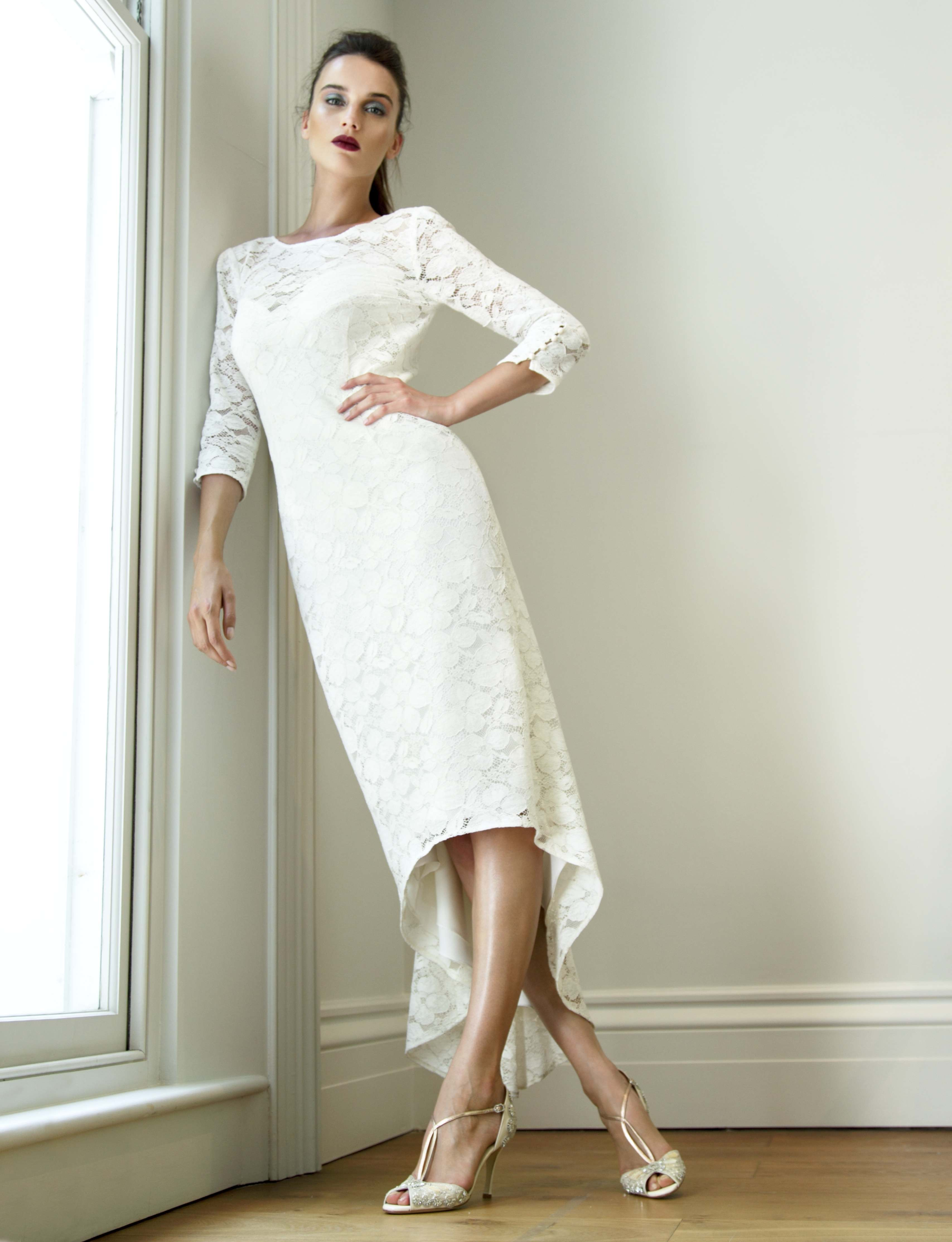New to launch the ultimate lace wedding dress for cool for Registry office wedding dress