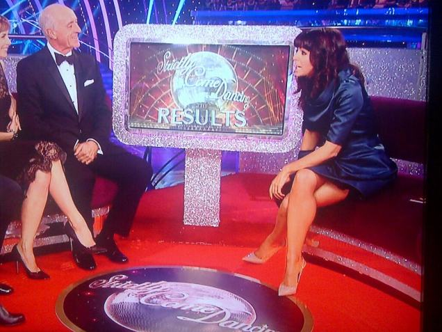 Claudia Winkleman Strictly oct 2013