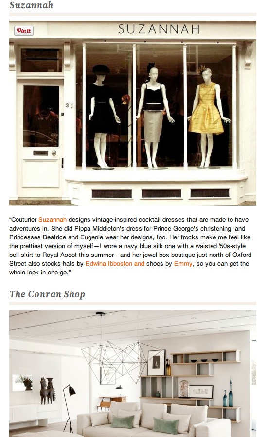 LLG recommends the Suzannah Boutique in London for great dresses..x