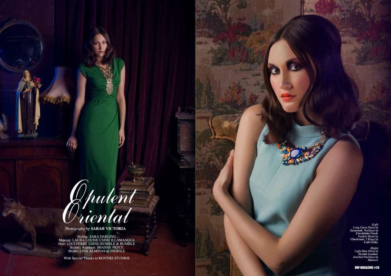 Opulent Oriental_HUF Magazine_spread 1