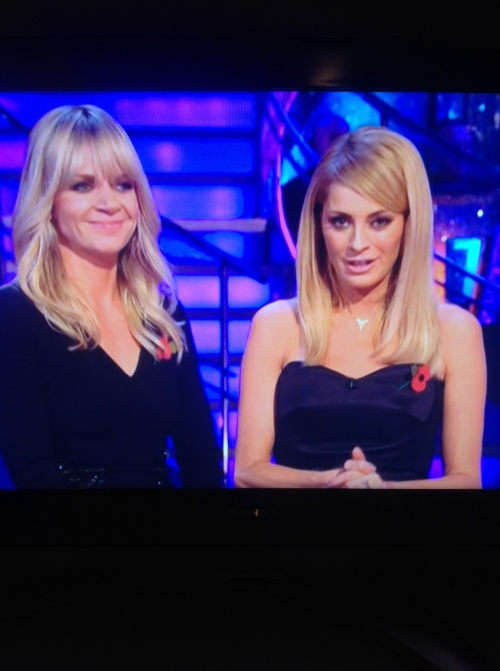 photo-Close up Tess Daly Striclty
