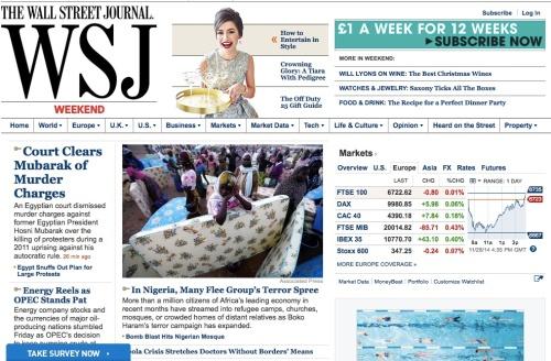 Wall Street Journal-28th Nov