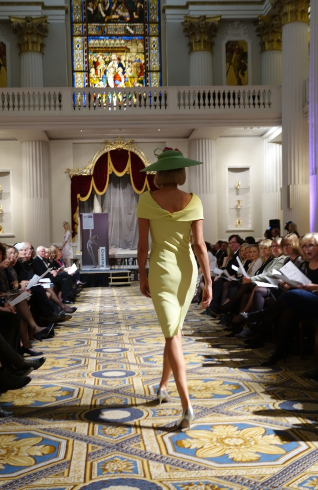 Mansion House Lemon Dress Back