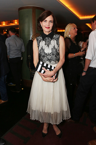 attends the Downton Abbey wrap party at The Ivy on August 15, 2015 in London, England.