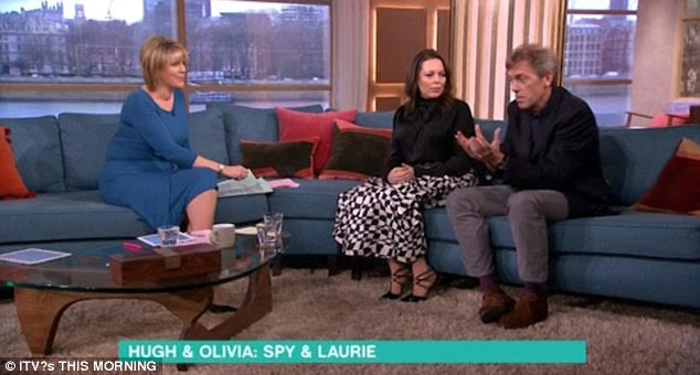 Olivia Colman This Morning