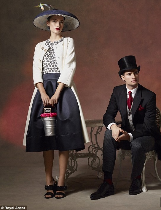 Official Royal Ascot Style Guide Photograph