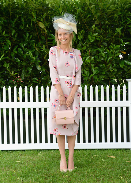 ASCOT, ENGLAND - JUNE 15:  Martha Ward attends day 2 of Royal Ascot at Ascot Racecourse on June 15, 2016 in Ascot, England.  (Photo by Kirstin Sinclair/Getty Images for Ascot Racecourse) Martha presents Ascot TV wearing the Suzannah 'Belinda' dress with Orielle millinery by Awon Golding